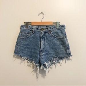 Vintage Bobson cut-off shorts, size 29